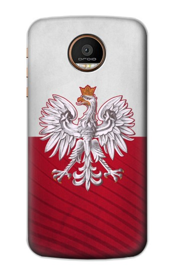 Printed Poland Football Flag Motorola Moto Z Force Case