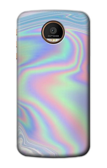 Printed Pastel Holographic Photo Printed Motorola Moto Z Force Case
