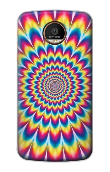 Printed Colorful Psychedelic Motorola Moto Z Force Case