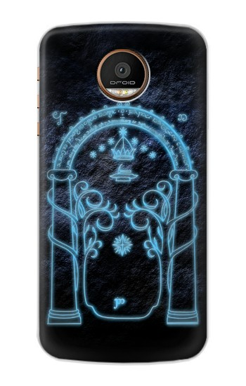 Printed Lord of The Rings Mines of Moria Gate Motorola Moto Z Force Case