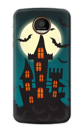 Printed Halloween Festival Castle Motorola Moto Z Force Case