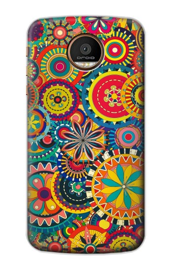 Printed Colorful Pattern Motorola Moto Z Force Case