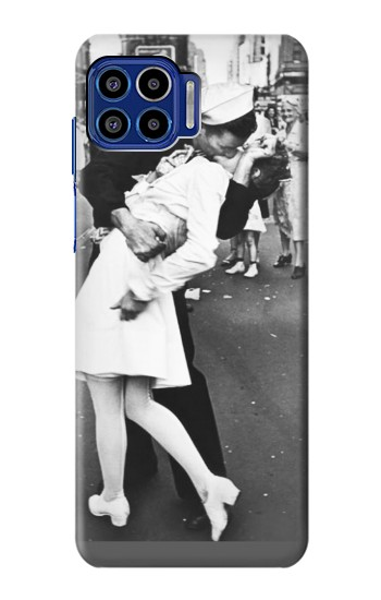 Printed The Famous Kiss Motorola One 5G Case