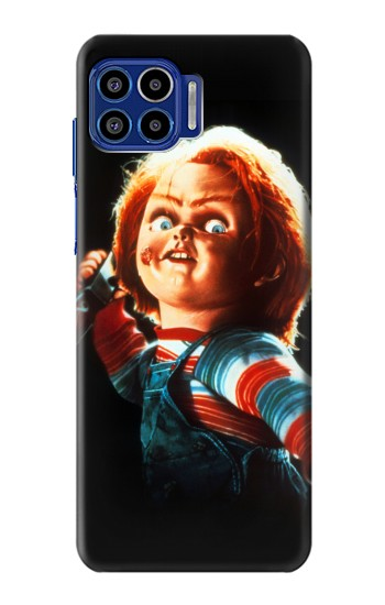 Printed Chucky With Knife Motorola One 5G Case