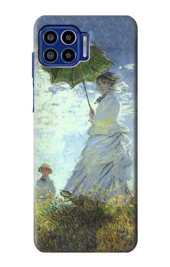 Printed Claude Monet Woman with a Parasol Motorola One 5G Case