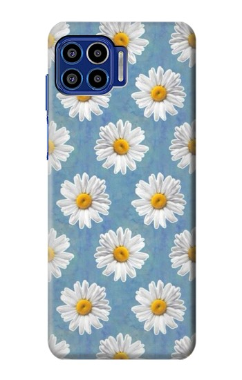 Printed Floral Daisy Motorola One 5G Case