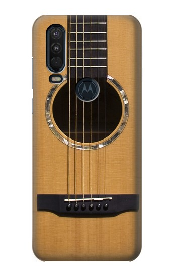 Printed Acoustic Guitar Motorola One Action (Moto P40 Power) Case