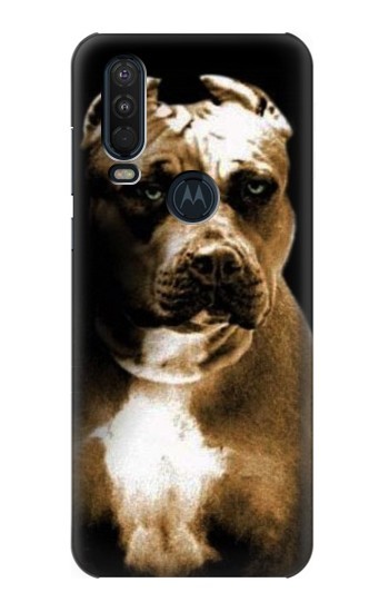Printed PitBull Motorola One Action (Moto P40 Power) Case