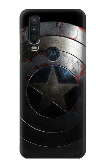 Printed Captain Shield Motorola One Action (Moto P40 Power) Case