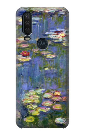 Printed Claude Monet Water Lilies Motorola One Action (Moto P40 Power) Case