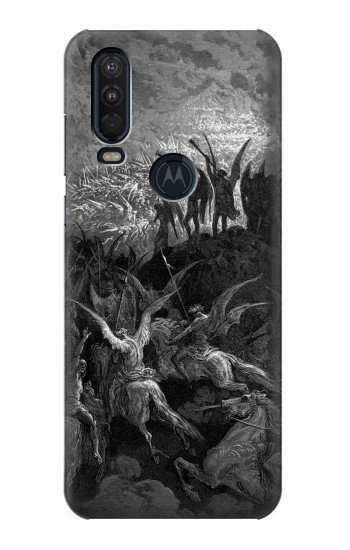 Printed Gustave Dore Paradise Lost Motorola One Action (Moto P40 Power) Case