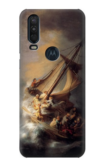 Printed Rembrandt Christ in The Storm Motorola One Action (Moto P40 Power) Case