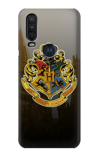 Printed Hogwarts School of Witchcraft and Wizardry Motorola One Action (Moto P40 Power) Case