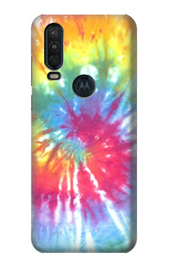 Printed Tie Dye Colorful Graphic Printed Motorola One Action (Moto P40 Power) Case
