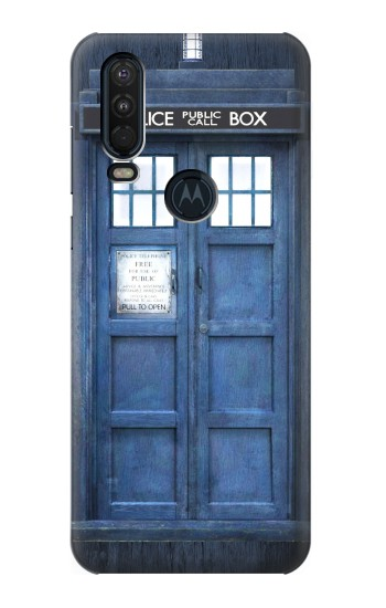 Printed Doctor Who Tardis Motorola One Action (Moto P40 Power) Case