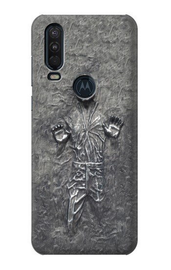 Printed Han Solo in Carbonite Motorola One Action (Moto P40 Power) Case
