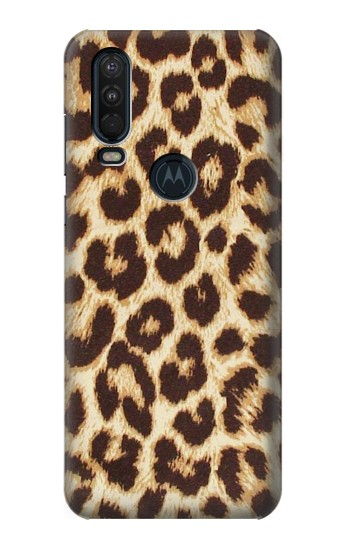 Printed Leopard Pattern Graphic Printed Motorola One Action (Moto P40 Power) Case
