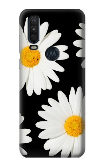 Printed Daisy flower Motorola One Action (Moto P40 Power) Case