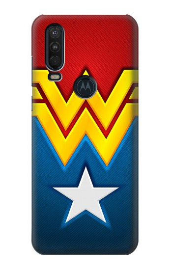 Printed Wonder Women Logo Motorola One Action (Moto P40 Power) Case