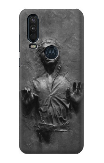 Printed Han Solo Frozen in Carbonite Motorola One Action (Moto P40 Power) Case
