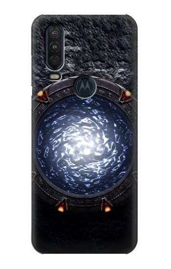 Printed The Stargate Orokin Portal Motorola One Action (Moto P40 Power) Case