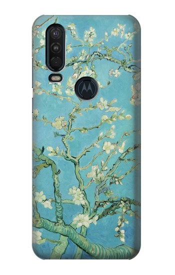 Printed Vincent Van Gogh Almond Blossom Motorola One Action (Moto P40 Power) Case