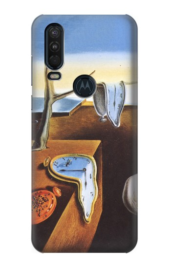 Printed Salvador Dali The Persistence of Memory Motorola One Action (Moto P40 Power) Case