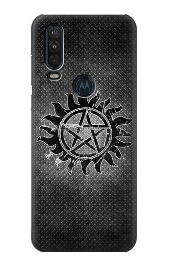 Printed Supernatural Antidemonpos Symbol Motorola One Action (Moto P40 Power) Case