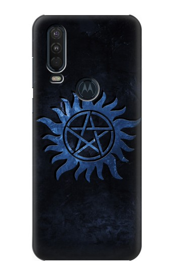 Printed Supernatural Anti Possession Symbol Motorola One Action (Moto P40 Power) Case