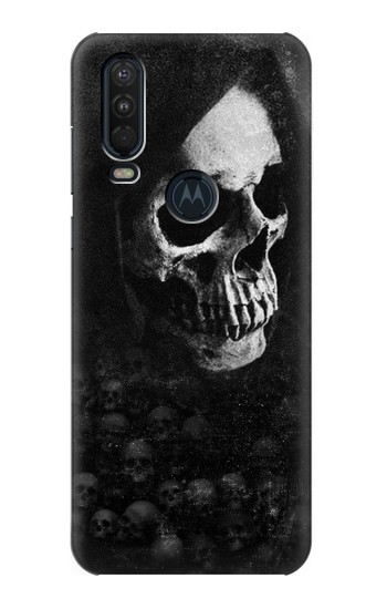 Printed Death Skull Motorola One Action (Moto P40 Power) Case