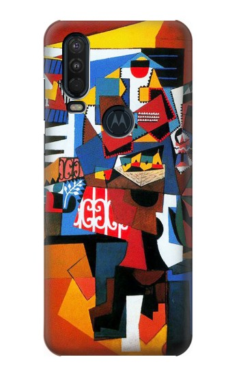 Printed Picasso The Bird Cage Motorola One Action (Moto P40 Power) Case