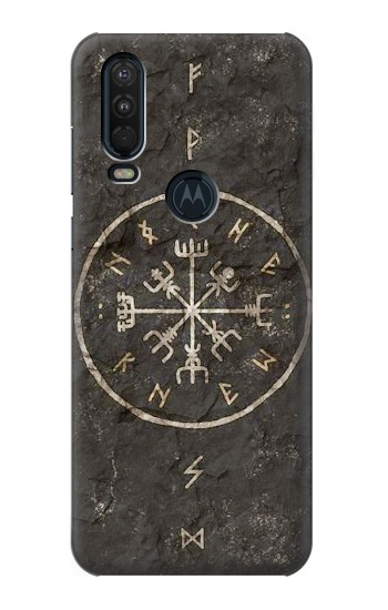 Printed Norse Ancient Viking Symbol Motorola One Action (Moto P40 Power) Case