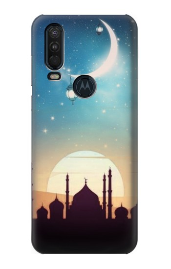 Printed Islamic Sunset Motorola One Action (Moto P40 Power) Case