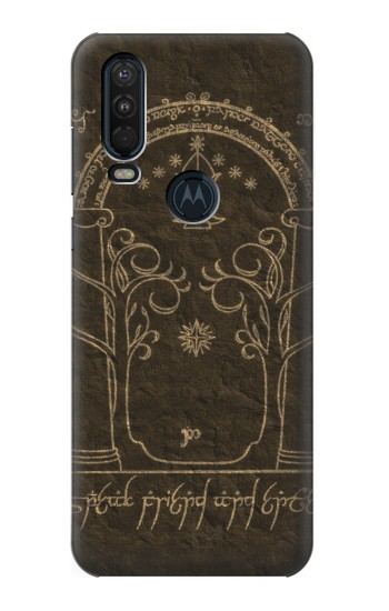 Printed Durin Door The Lord of The Rings Motorola One Action (Moto P40 Power) Case