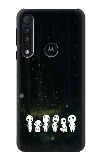 Printed Forest Spirit Princess Mononoke Motorola One Macro Case