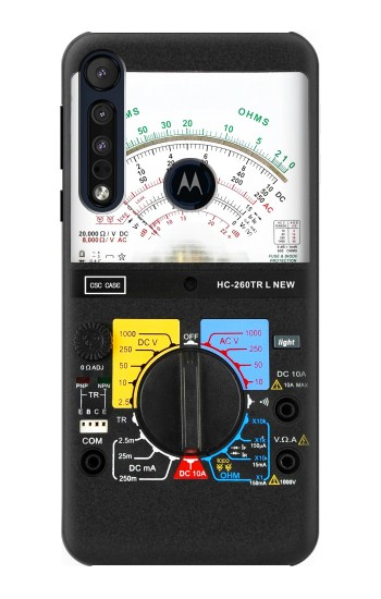 Printed Analog Multimeter Motorola One Macro Case