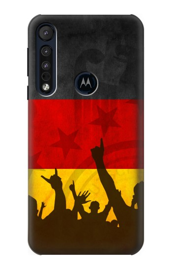 Printed Germany Football Flag Motorola One Macro Case