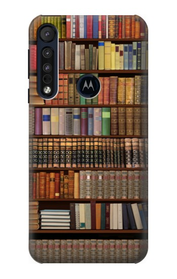 Printed Bookshelf Motorola One Macro Case