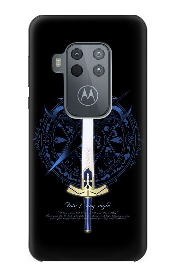 Printed Fate Stay Night Excalibur Motorola One Zoom Case
