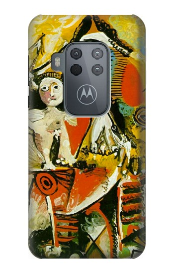 Printed Picasso Painting Cubism Motorola One Zoom Case