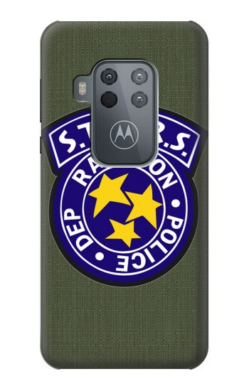 Printed Resident Evil Star Badge Chris Outfit Motorola One Zoom Case