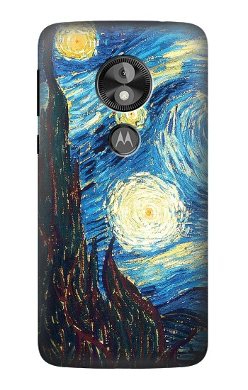 Printed Van Gogh Starry Nights  Case