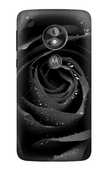 Printed Black Rose  Case
