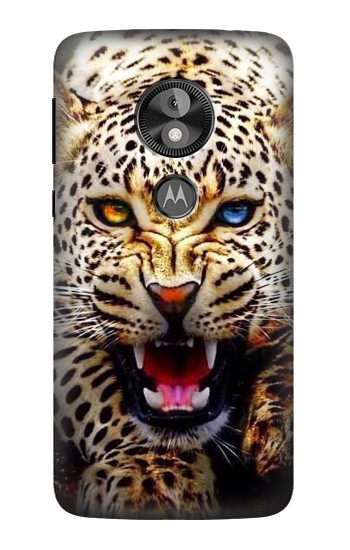 Printed Blue Eyed Leopard  Case