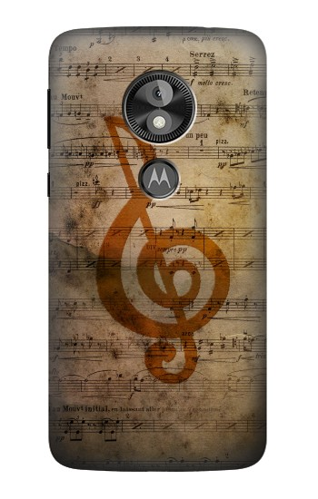 Printed Sheet Music Notes  Case