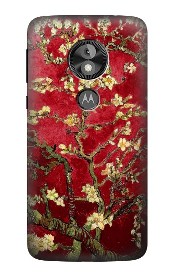 Printed Red Blossoming Almond Tree Van Gogh  Case