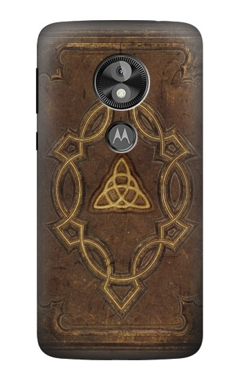 Printed Spell Book Cover  Case