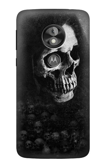 Printed Death Skull  Case
