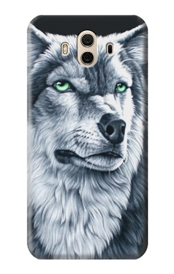 Printed Grim White Wolf Huawei Honor 5X Case