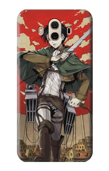 Printed Attack on Titan Rivaille Levi Huawei Honor 5X Case